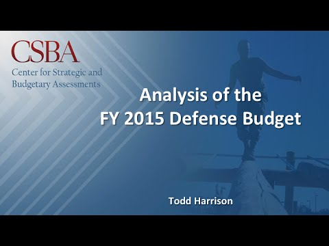 Where Defense Dollars Go: Understanding the FY2015 Defense Budget