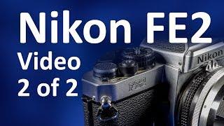 Nikon FE2 Instructions Video Manual 2 of 2