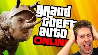 GTA 5 Online - RHINO REVENGE #2!