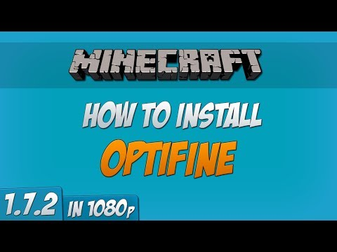 Minecraft 1.7.2 : How to Install Optifine Mod! (1080p) (Forge)