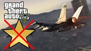 GTA V - Come Rubare il Caccia SENZA STELLE! / How to steal the jet fighter WITHOUT STARS!