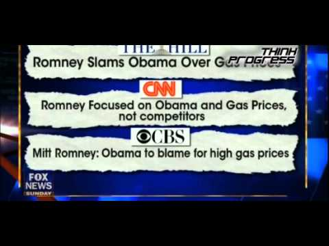 Mitt Romney Panders To Big Oil: Fire The 'Gas Price Trio'
