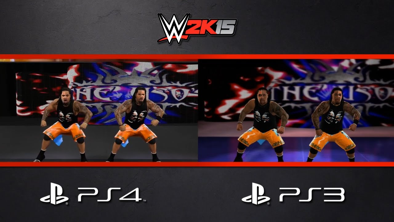 Wwe 2k15 the usos entrance comparison ps4 ps3 youtube
