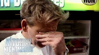 Ramsay In Awe Over Owner Telling Head Chef How To Cook Asparagus | Kitchen Nightmares
