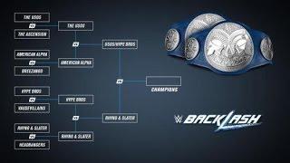 WWE 2K16 Backlash 2016 PPV SmackDown! Tag Team Championship Match