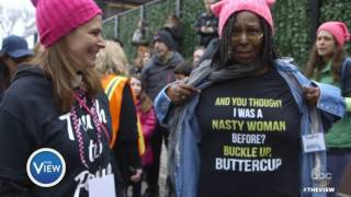 Whoopi Goldberg Addresses Altered Photo Of Herself At Women's March
