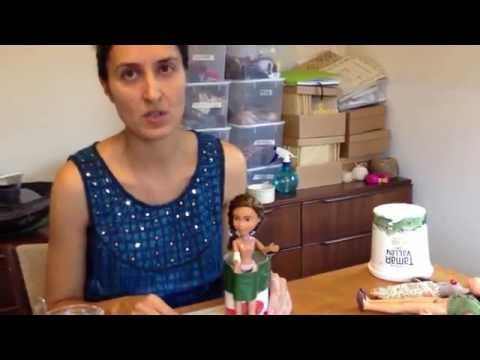 Tree Change Dolls artist Sonia Singh - DIY making boots or shoes or feet for dolls