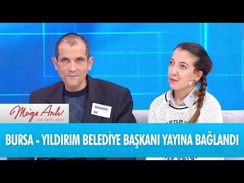 Bursa - Yıldırım belediye başkanı canlı yayına bağlandı - Müge Anlı İle Tatlı Sert 27 Kasım 2017