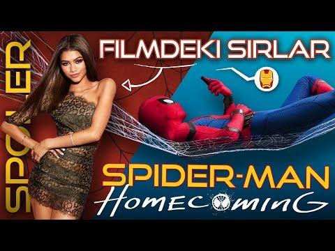 SPIDERMAN HOMECOMING Spoilerlı İnceleme Filmde S...