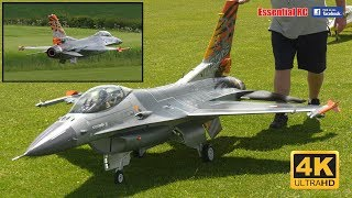 GIANT 1:5 SCALE Jet Legend F-16 [*UltraHD and 4K*]