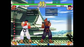 SF3 BnB Combo Guide and General Notes - Ryu