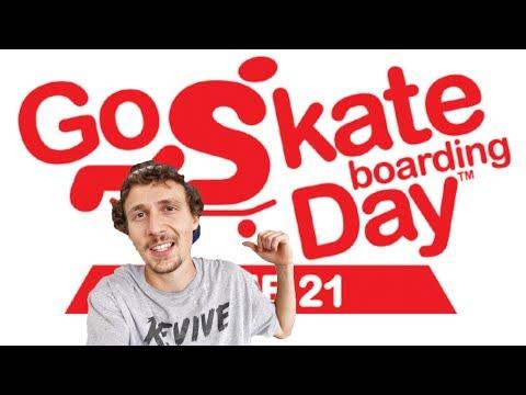 Go Skateboarding Day 2017 VLOG - Jonny Giger