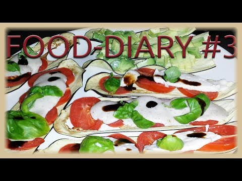 FOOD DIARY #3 - WHAT I EAT -  vegane Rezeptideen