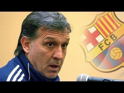 """El argentino Gerardo """"Tata"""" Martino, nuevo entrenador del Barcelona"""