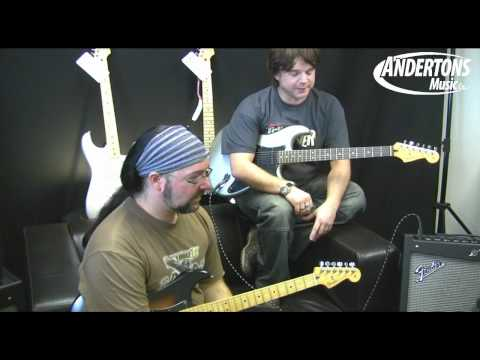 Fender Mustang III combo and Mustang V head and cab