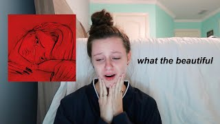 "REACTING TO ""when the party's over"" BY BILLIE EILISH"