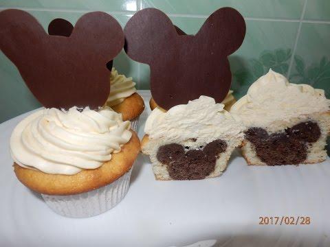 Капкейки Микки Маус / Mickey Mouse Cupcakes