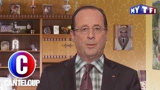 François Hollande a un message personnel pour Valérie Lemercier... - C'est Canteloup du 26 mai 2017