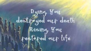 Watch Matt Redman Remembrance communion Song video