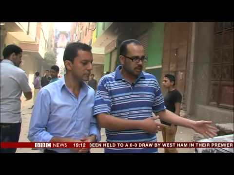 07/04/2013 - Bigoted muslims shoot dead Christians in Cairo, Egypt