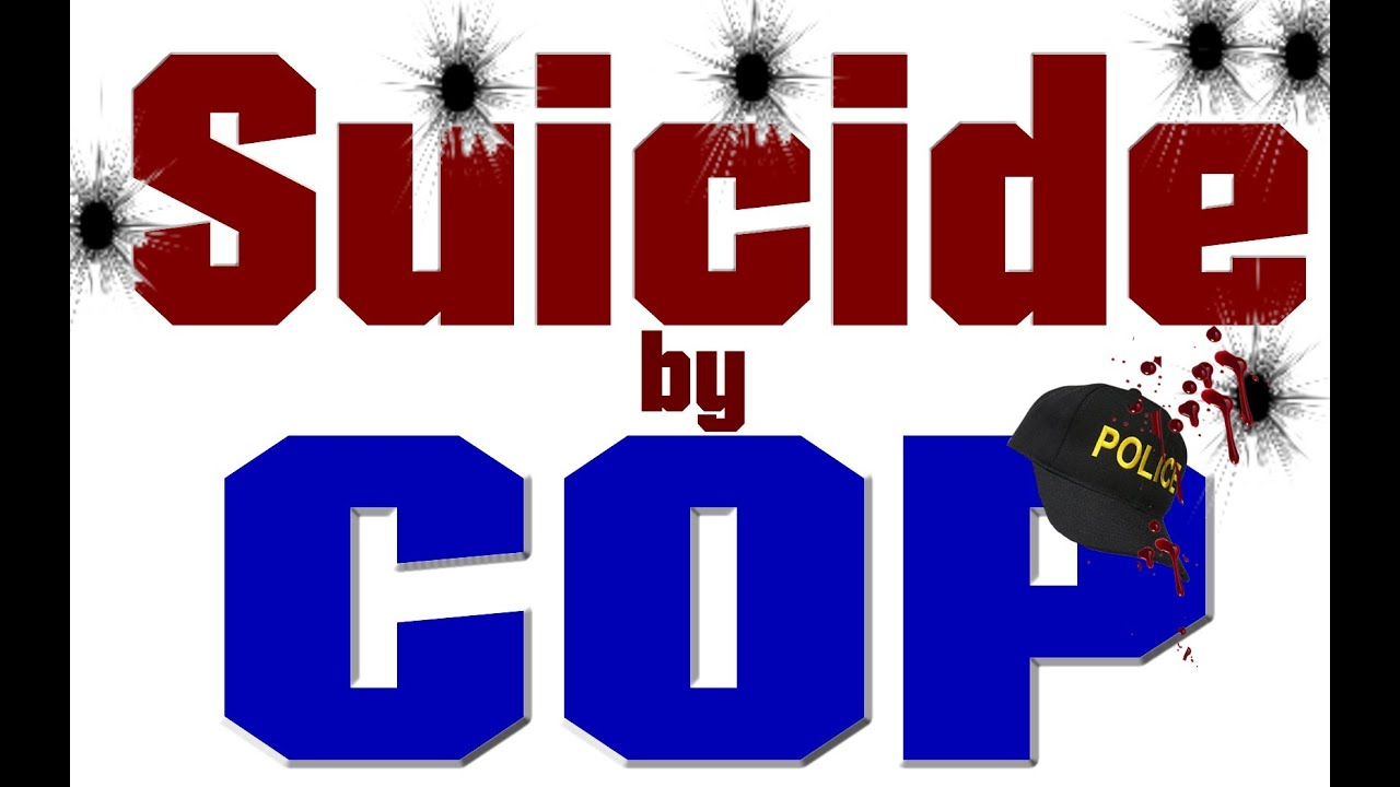 suicide by cop 'crying is better than dying', and it's ok to ask for help says man shot by police in suicide attempt.