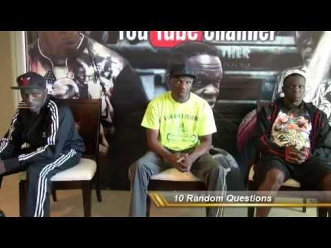 Roger, Jeff & Floyd Mayweather Sr. - 10 Random Questions