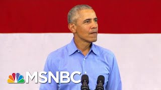 Demolished By Facts: Trump's Claim GOP Never Investigated Obama | The Beat With Ari Melber | MSNBC