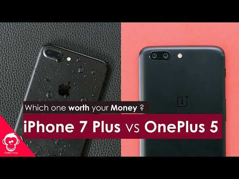 $769 iPhone 7 Plus Vs $479 OnePlus 5 ?