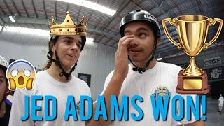 JED ADAMS WON!