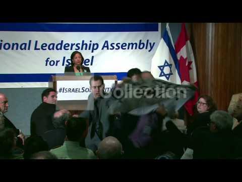 JEWISH LEADERSHIP EVENT- SUSAN RICE HECKLED