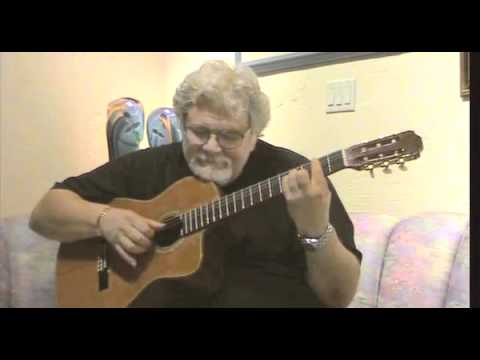 Warren S. Reid, a Jerry Garcia lookalike, plays Adam Del Monte flamenco tunePart 2