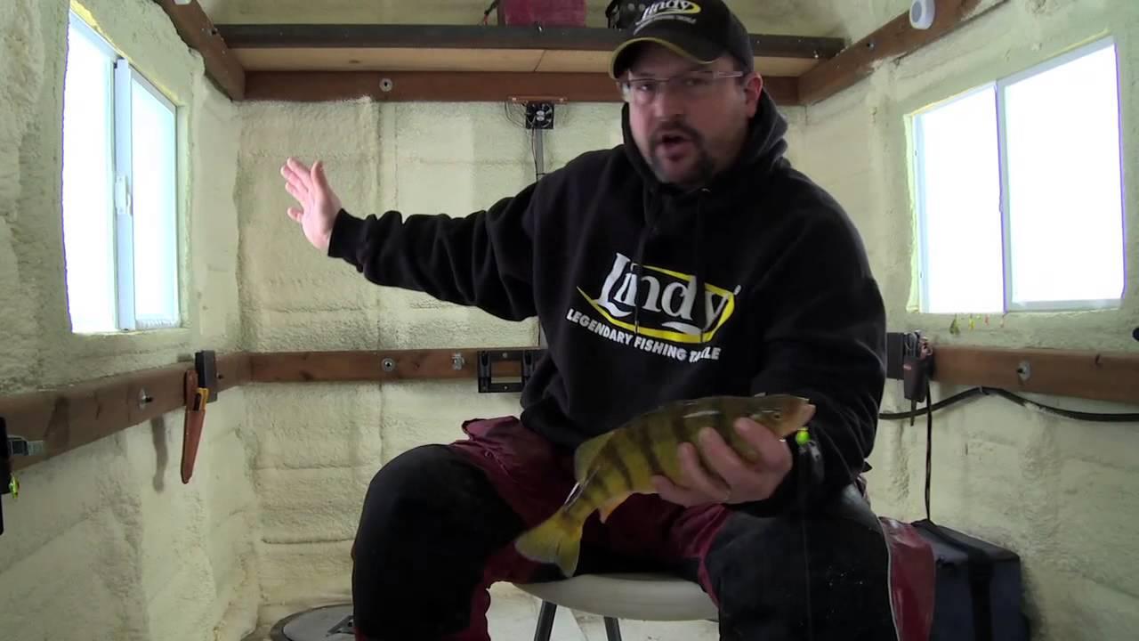 Fish ed ice fishing tricks to catch devils lake perch for Devils lake nd ice fishing