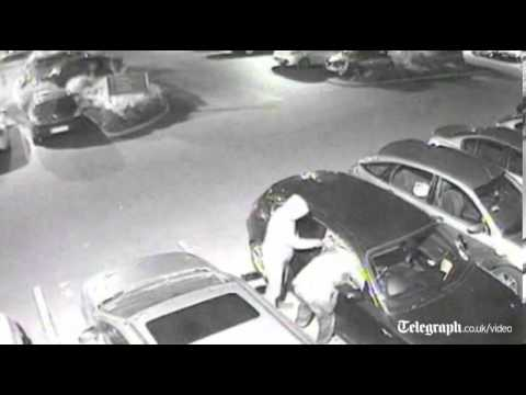 CCTV: thieves steal BMW in 15 seconds