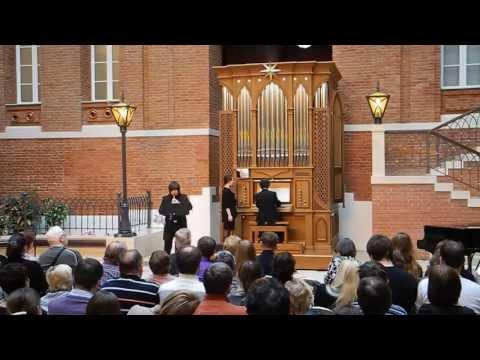 Бенедетто Марчелло - Концерт для органа, гобоя и (или) флейты Партитура