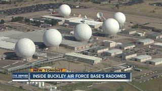 Inside Buckley Air Force Bases' radomes