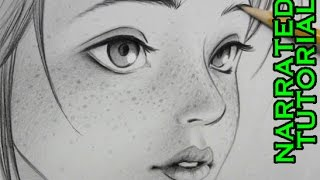 How to Draw Freckles