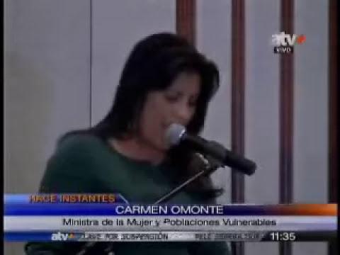 La ministra de la Mujer encabezó seminario sobre empoderamiento de la mujer (Canal 17)