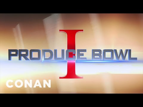 The Food Network Produce Bowl: Fruits vs. Vegetables - CONAN on TBS