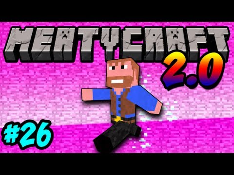 Meatycraft - 2.0 Finding the End Portal Ep.26