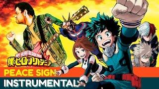 "Boku no Hero Academia Opening 2 ""Peace Sign"" ?INSTRUMENTAL COVER? OMAR1UP"