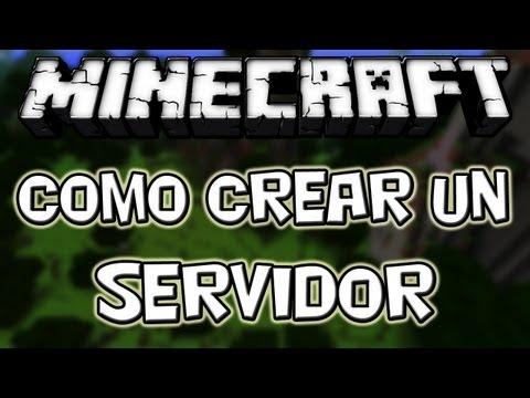 Minecraft 1.8.2 - Como Crear un Server - ESPAÑOL TUTORIAL