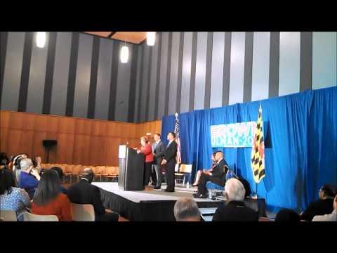 U.S. Senator Barbara Mikulski Endorses Anthony Brown for Governor