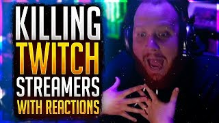 """""""This Guy's a GOD!"""" Killing Twitch Streamers w/ Reactions #3 -- Overwatch Gameplay"""