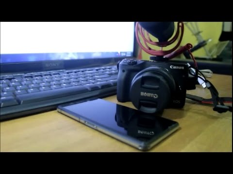 tutorial connect camera canon m3 to smart phone (mode does