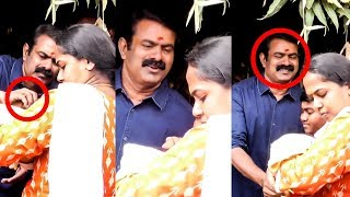 VIDEO: Seeman Cute Moments With His Son At Murugan Temple