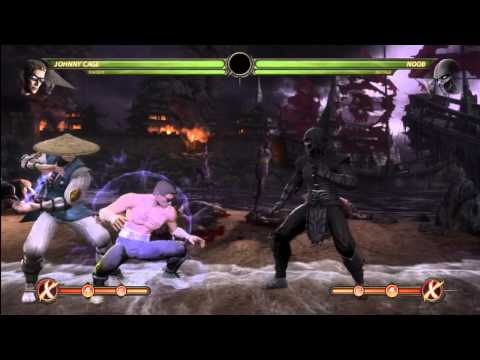 MK9 - Johnny Cage Combo Compilation