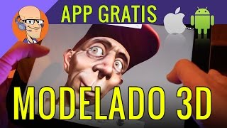 MODELADO 3D: App gratis para Android y Apple iOS