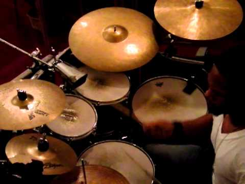 Chuck C. Fred Hammond John P Kee They That Wait Drum Cover video