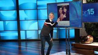 Ellen Finds an Audience Member's Embarrassing Glamour Shot