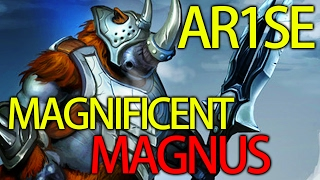 7.02 META Arise Best Magnus of All Time Dota 2